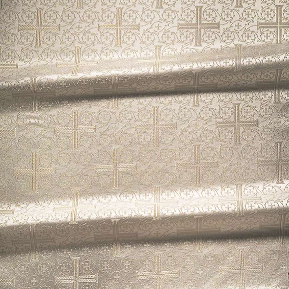 145 cm width Metallic Greek brocade