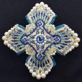 Кресты для архиерейского облачения голубого