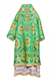 Архиерейское облачение зеленое (парча «Почаевская»)