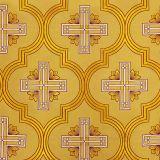 Ткань церковная желтая «Каппадокия»