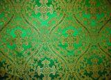 Парча «Лавра» зеленая