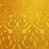 Парча для облачения священника желтая «Венец»