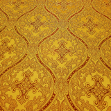 Парча с метанитью желтая «Лавра»