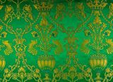 Brocade (Garden of Eden) for vestment green