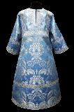 Стихарь голубой детский на подкладке (рост 110-128)