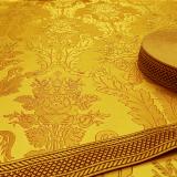 Парча для стихаря желтая «Терновый венец»