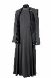 Жилет православный мужской зимний с вышивкой на полочке