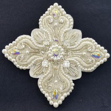 Хрести для архієрейського облачення білого