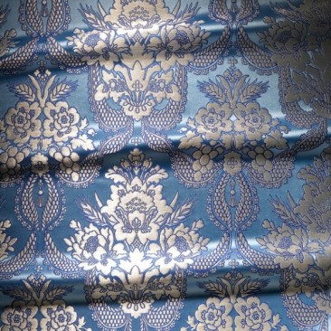 Brocade (Nativity of the Mother of God) skyblue