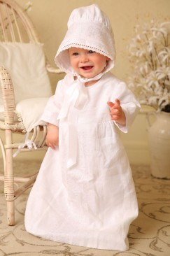 Baptism, christening set (Chrism) for boy
