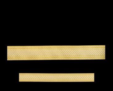 Галун «Эфес» белый с золотом