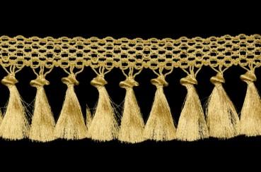 ☦️Бахрома «Кисти на тесьме» ширина 12,5 см в золоте   КУПИТЬ >> Украина   Киев • Аксессуары и фурнитура