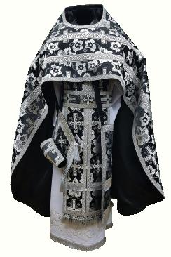 Priest Vestment black