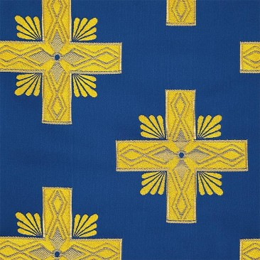 Church brocade blue (Athos)