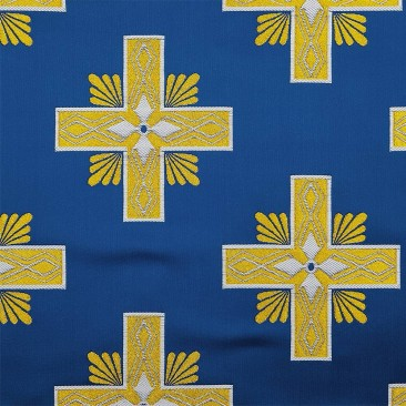Church fabric blue (Athos)