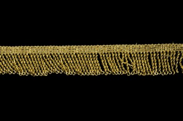 Бахрома «люрекс» 3,5 см в золоте