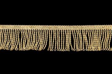 Бахрома «люрекс» 5 см в золоте