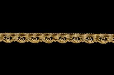 Тесьма декоративная ширина 1,5 см в золоте