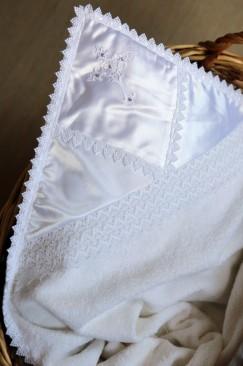 Baptism, christening blanket (My angel)