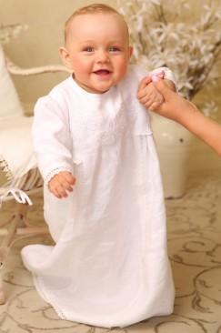 Сорочка лляна з вишивкою «Янгол мій»