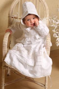 Baptism, christening set (Anastasia)
