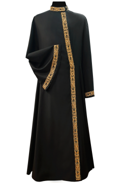 Cassock Male Russian-style (gold embroidery)