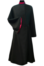 Cassock Male Russian-style with dark-red trim