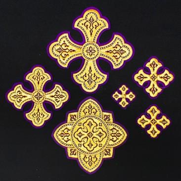 Crosses for Bishop's Vestments (Lavra)