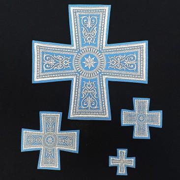 Кресты для облачения греческого покроя
