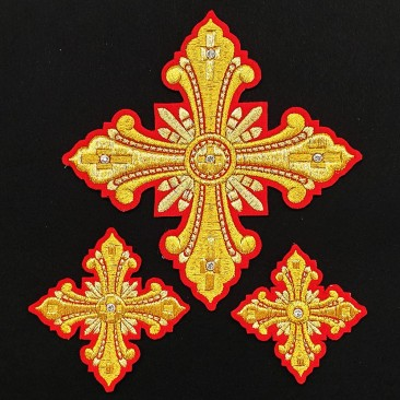Crosses for Vestments of Deacon (Christmas)