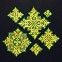 Crosses for Vestments of the Bishop (Tulip)