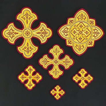 ☦️CROSSES FOR VESTMENTS (LAVRA) •  buy | for sale >>> ORTHODOX