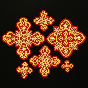 Crosses Set for Vestment of the Bishop (Princess)