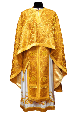 Priest Vestment yellow (Greek Style)