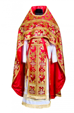 Priest Vestment red