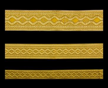 Галун «Пасха» желтый с золотом
