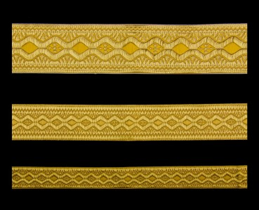 ☦️Галун «Пасха» желтый с золотом | КУПИТЬ >> Украина | Киев • Аксессуары и фурнитура