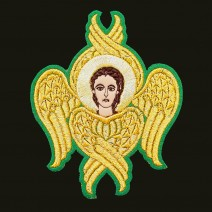 Embroidered Seraph for Vestments