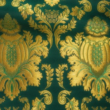 ☦️BROCADE GREEN (DAMASCUS) •  buy | for sale