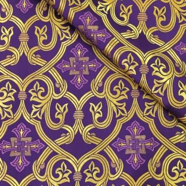 Парча фиолетовая «Смирна»