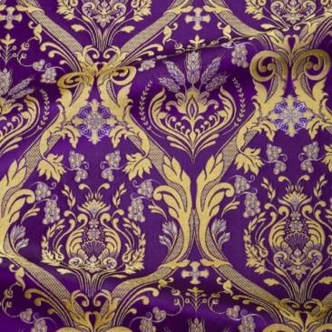 Парча фиолетовая «Черниговская»