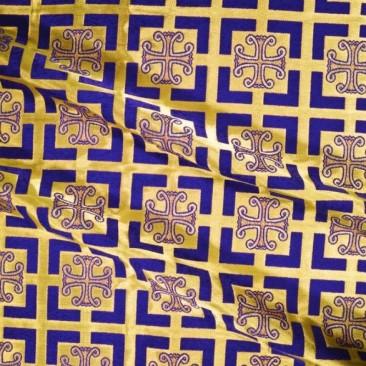 Парча фиолетовая «Капернаум»