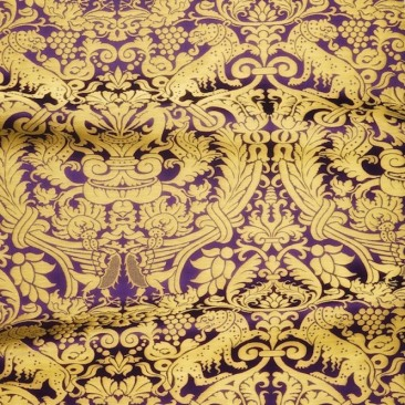 Парча фіолетова «Віфанія»
