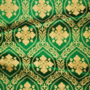 Brocade green (Openwork Cross)