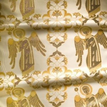 Парча желтая «Ангел небесный»