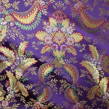 Парча фиолетовая «Халкида»