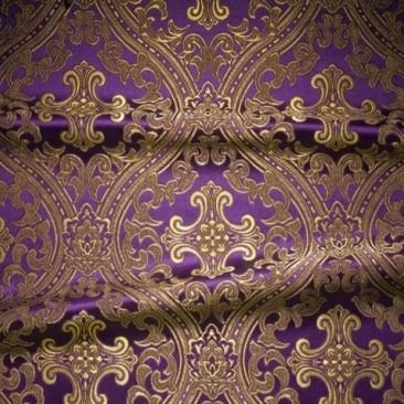 Парча фіолетова «Лавра»