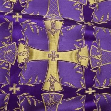 Парча фіолетова «Голгофа»
