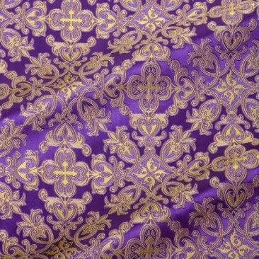 Парча фіолетова «Симеоновская»