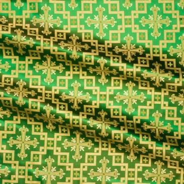Silk green (Jerusalem Cross)